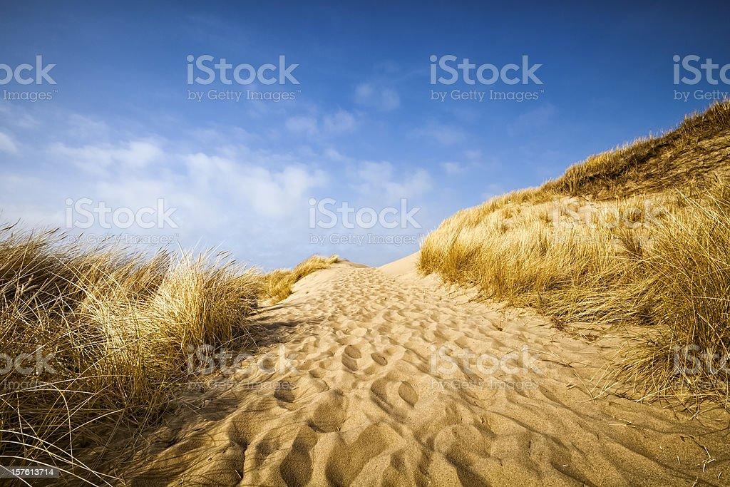 Sand Dune Way royalty-free stock photo