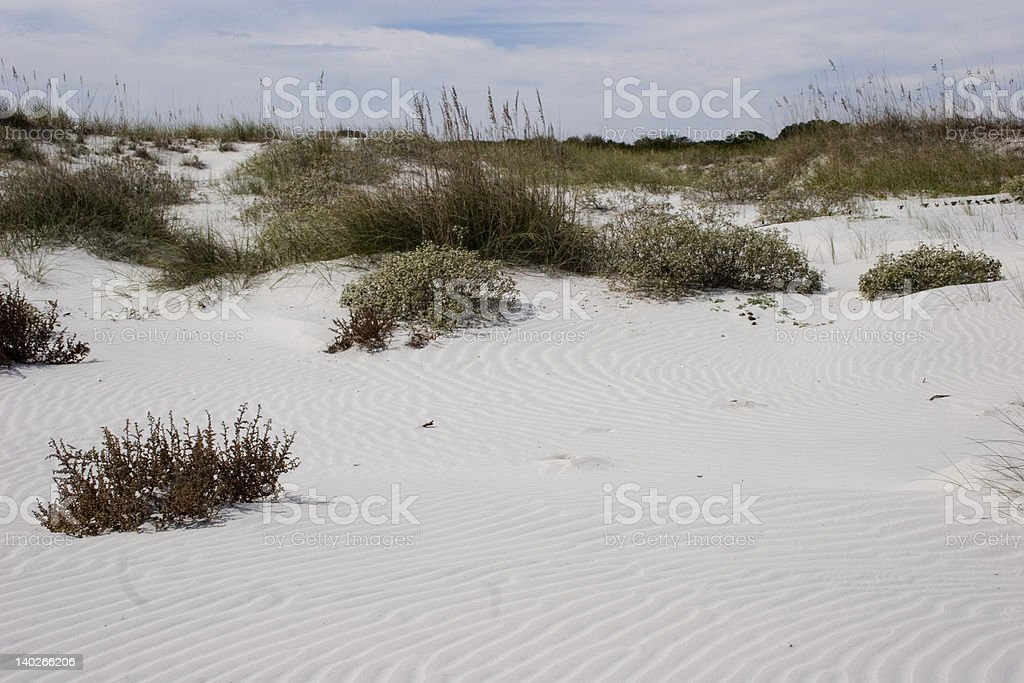 Sand Dunes As Nature Intended royalty-free stock photo