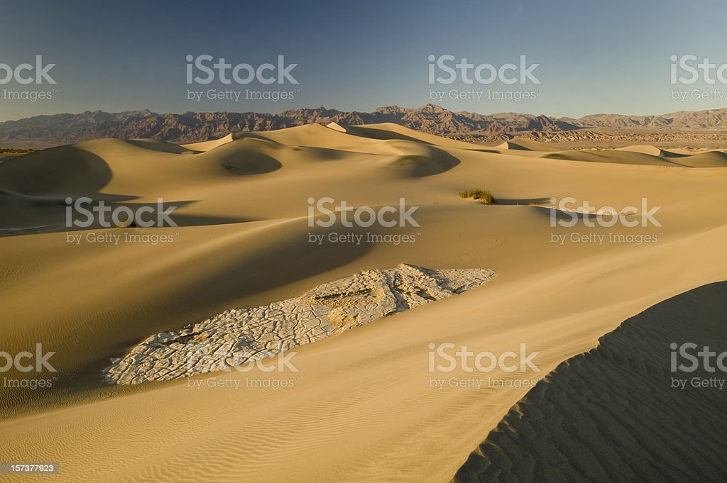 Sand Dunes, Death Valley royalty-free stock photo