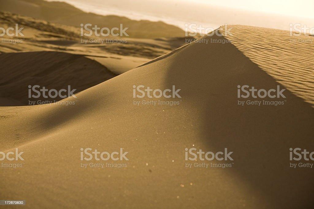 Sand Dunes Landscape royalty-free stock photo