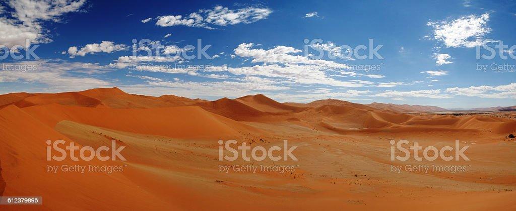 Sand dunes near Swakopmund stock photo