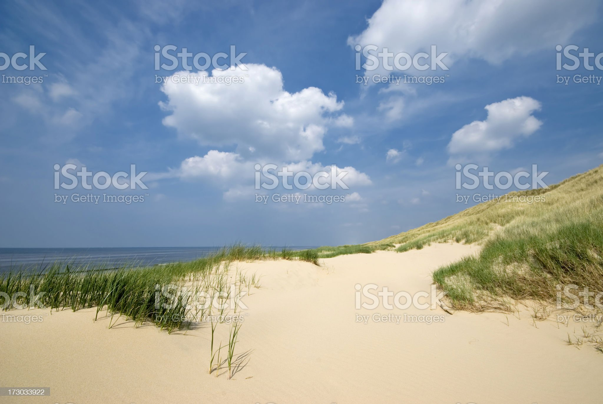 Sand Dunes royalty-free stock photo