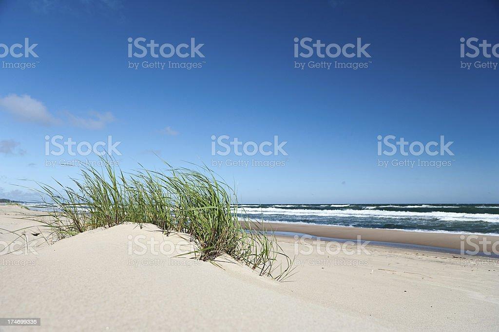Sand dunes royalty-free stock photo