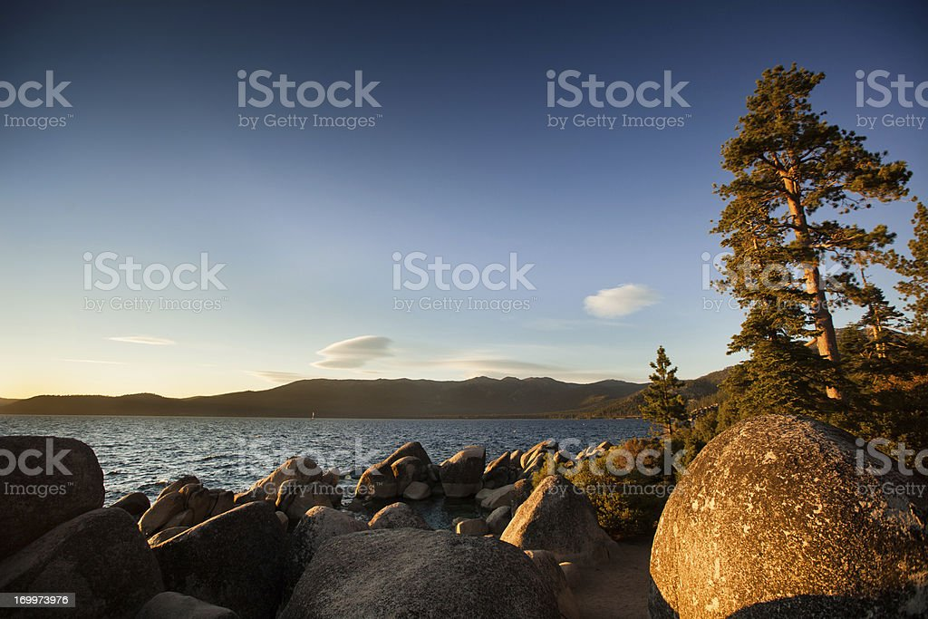 Sand Harbor State Beach, Lake Tahoe stock photo