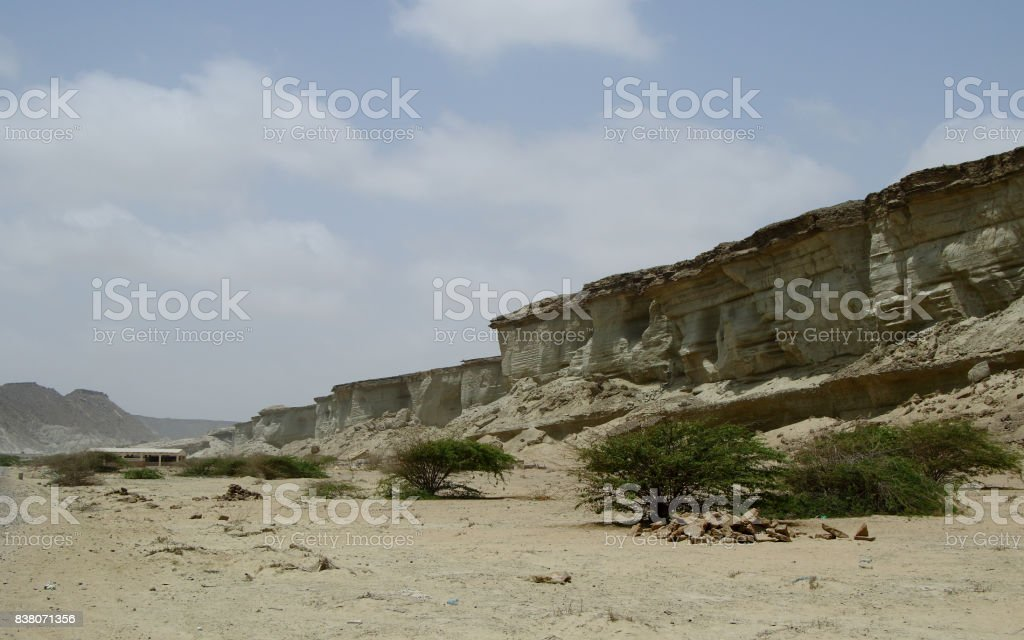 Sand Hill Formation stock photo