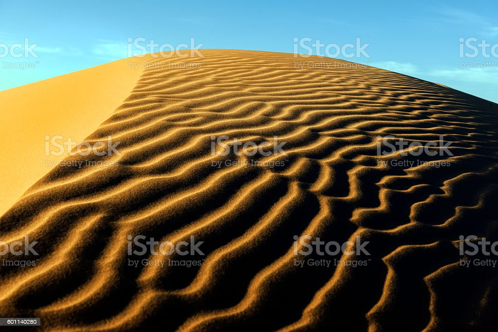 Sand in Erg Chebbi Desert, ,Merzouga, Morocco, Northern Africa stock photo