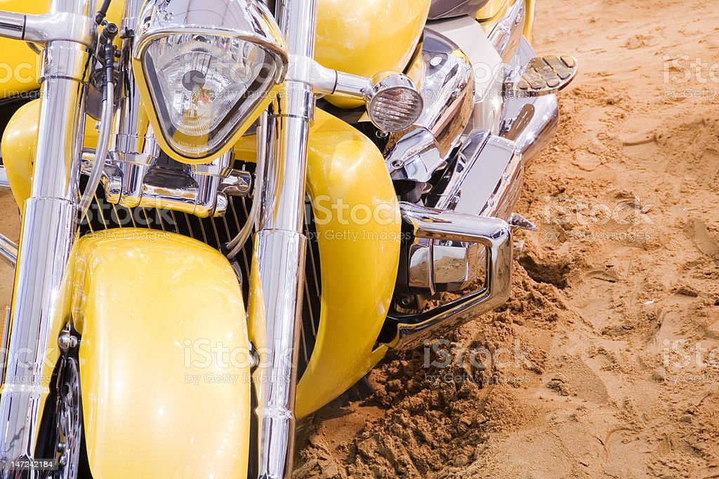 Sand moto royalty-free stock photo