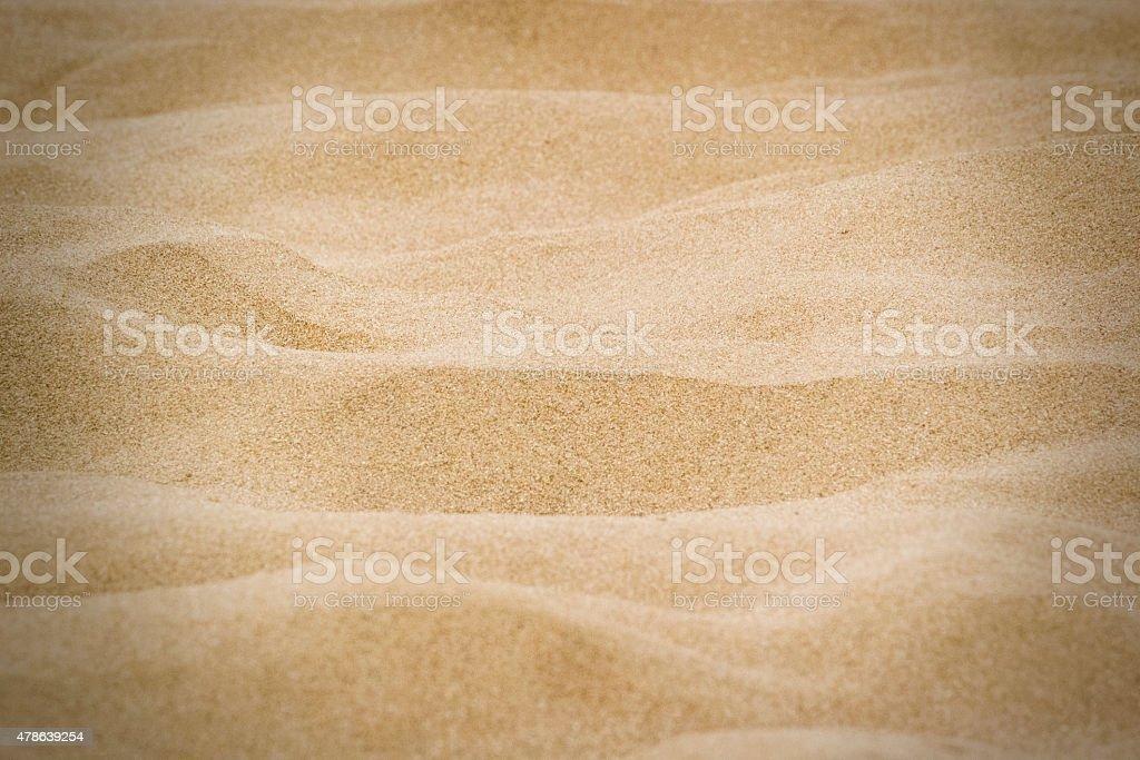 Sand Of Beach - Macro Sand stock photo
