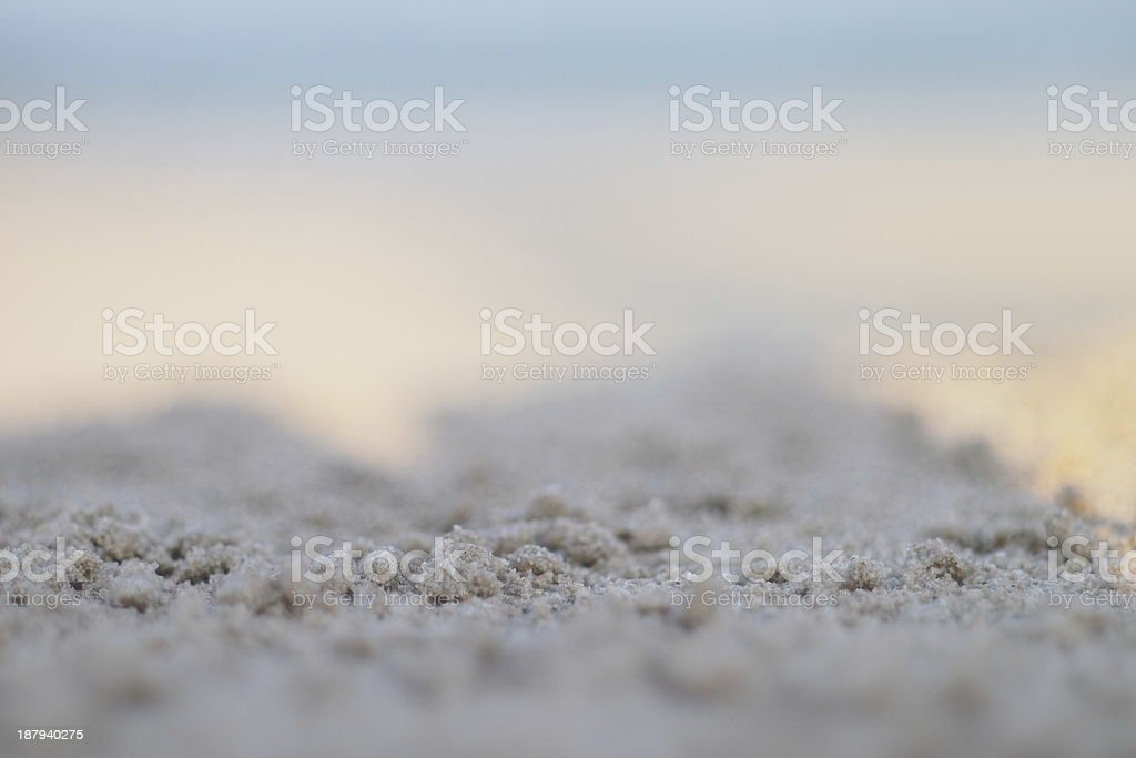 Sand of south-side Thailand stock photo