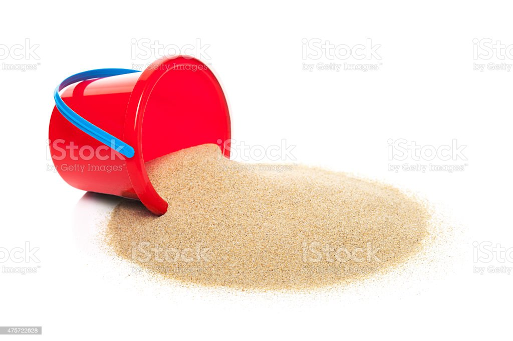 Sand Pail stock photo