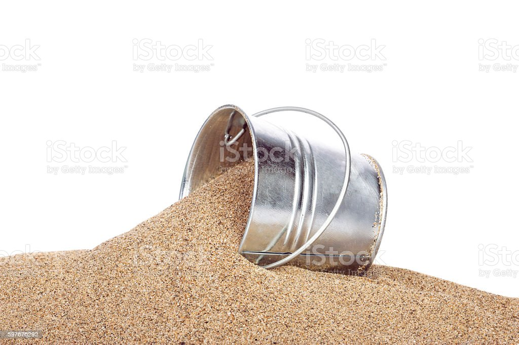 Sand Pail stock photo