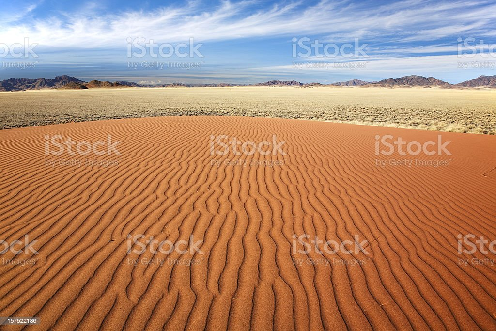 Sandmuster, Naukluft Nationalpark royalty-free stock photo