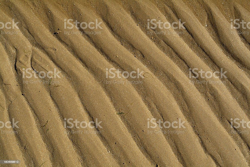 sand pattern royalty-free stock photo