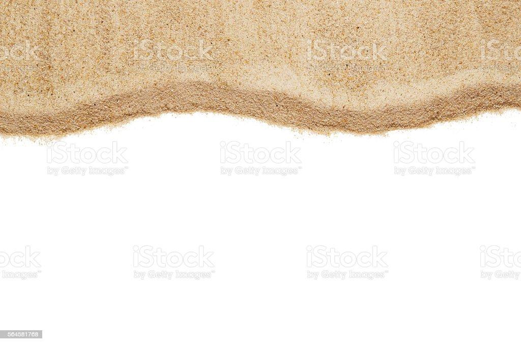 Sand pattern texture stock photo