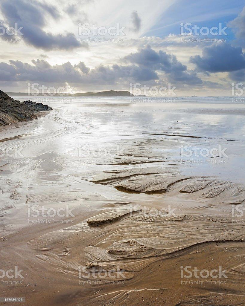 Motifs de sable photo libre de droits