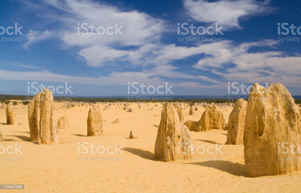 Sand Pinnacles royalty-free stock photo