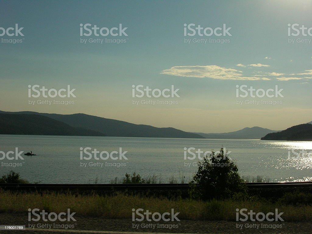 Sand Point, Idaho royalty-free stock photo
