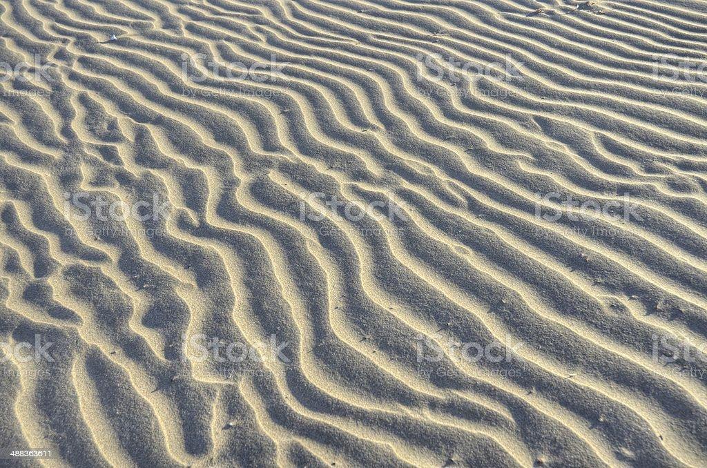Песок волны Стоковые фото Стоковая фотография