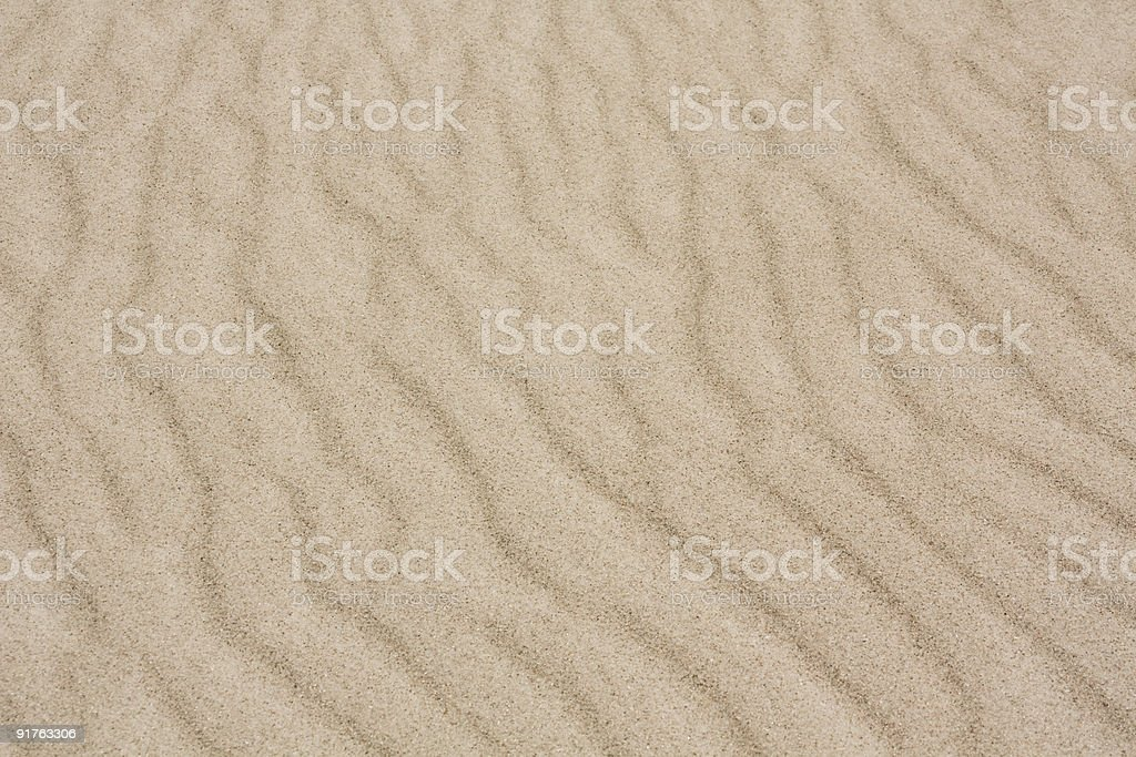 Sand Ripples stock photo