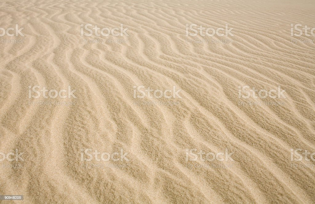 sand ripples#2 royalty-free stock photo
