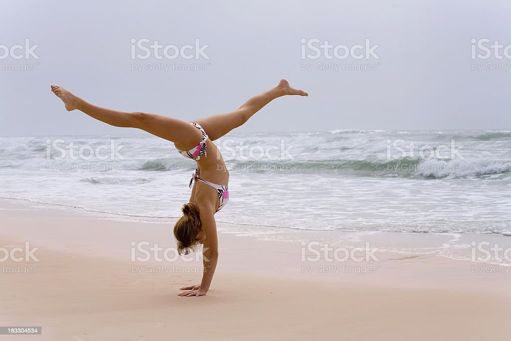 sand stand royalty-free stock photo