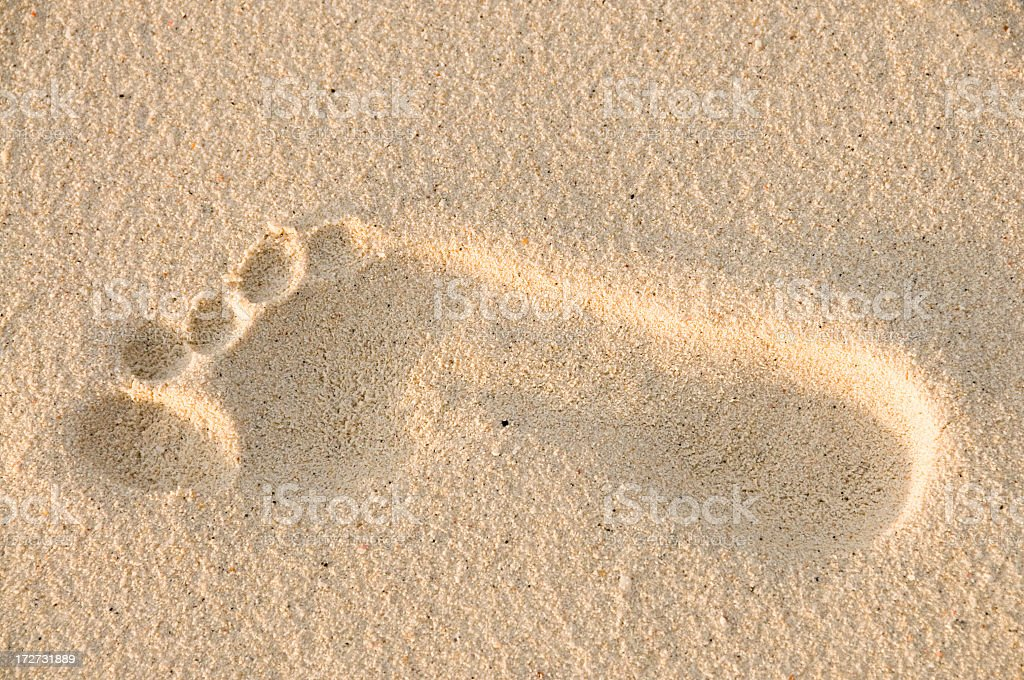 Sand Step royalty-free stock photo