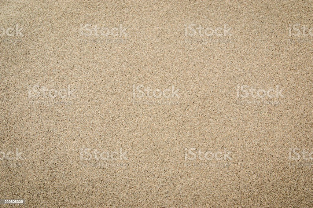 Sand texture for background. Top view stock photo