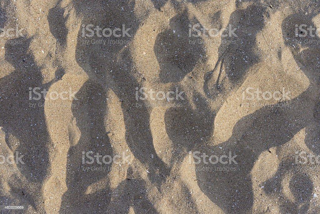 Textura de areia foto royalty-free