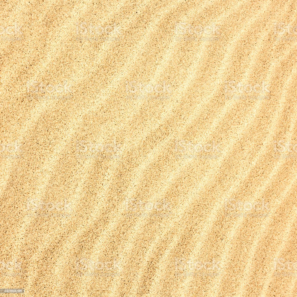 Sand Texture Square Background stock photo