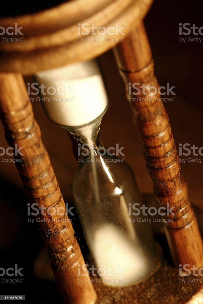 Sand Timer - Close Up royalty-free stock photo