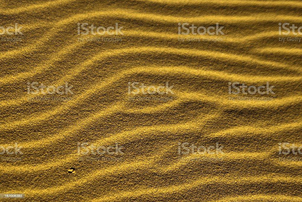 Sand Trails stock photo