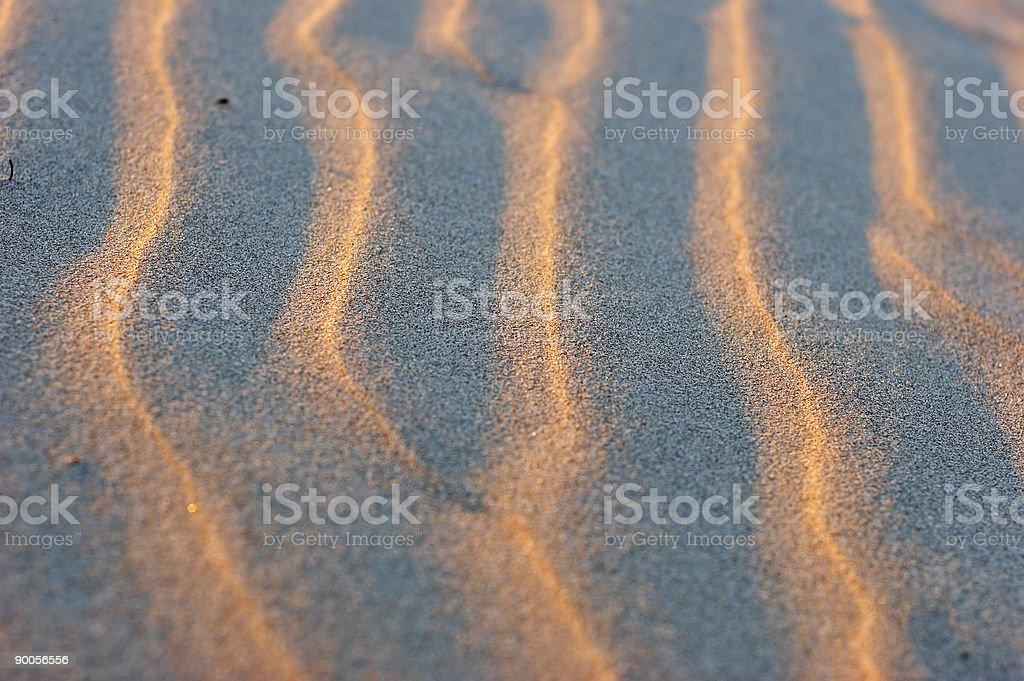 Sand Zen stock photo
