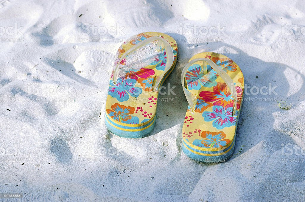 Sandal royalty-free stock photo