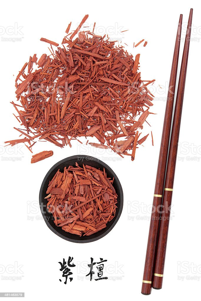 Sandalwood stock photo