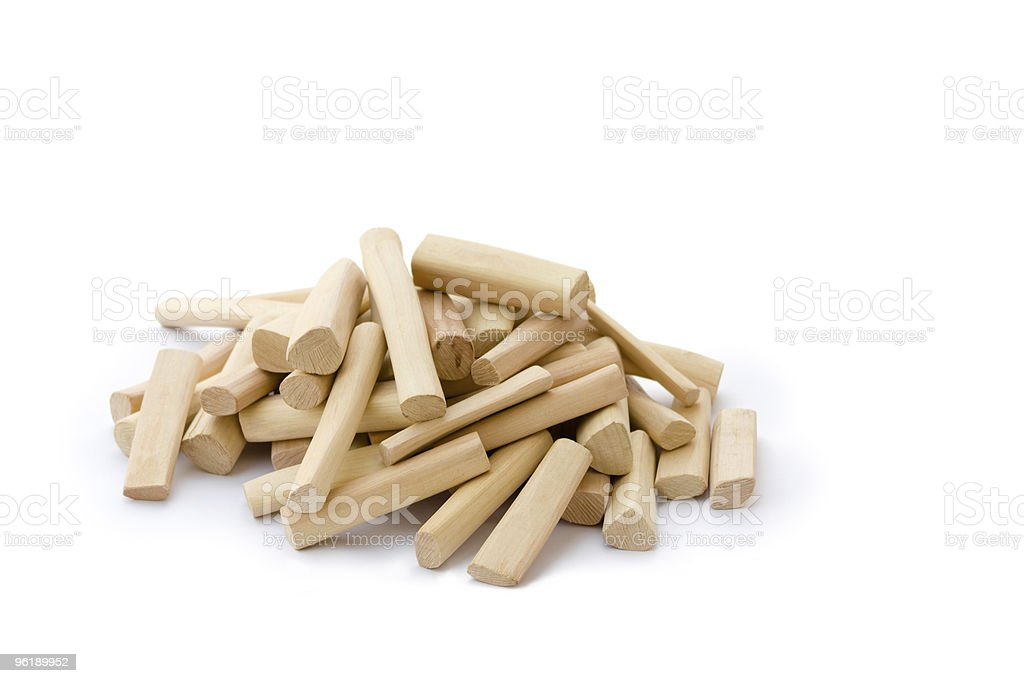 Sandalwood sticks stock photo