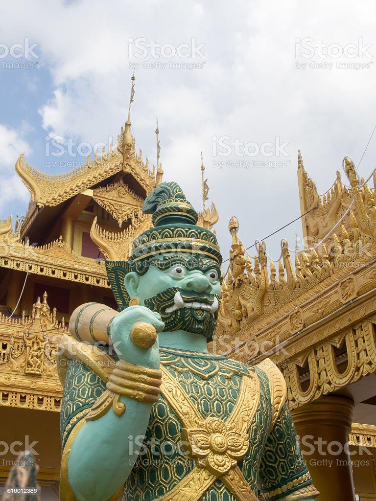 Sandamuni Pagoda Giant stock photo