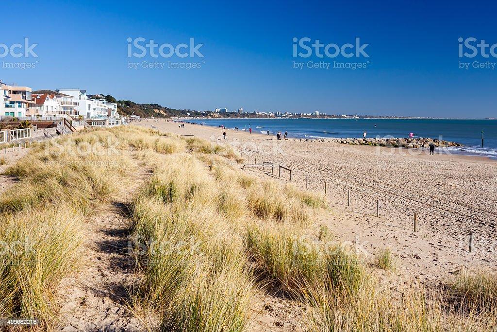 Sandbanks Beach Dorset stock photo