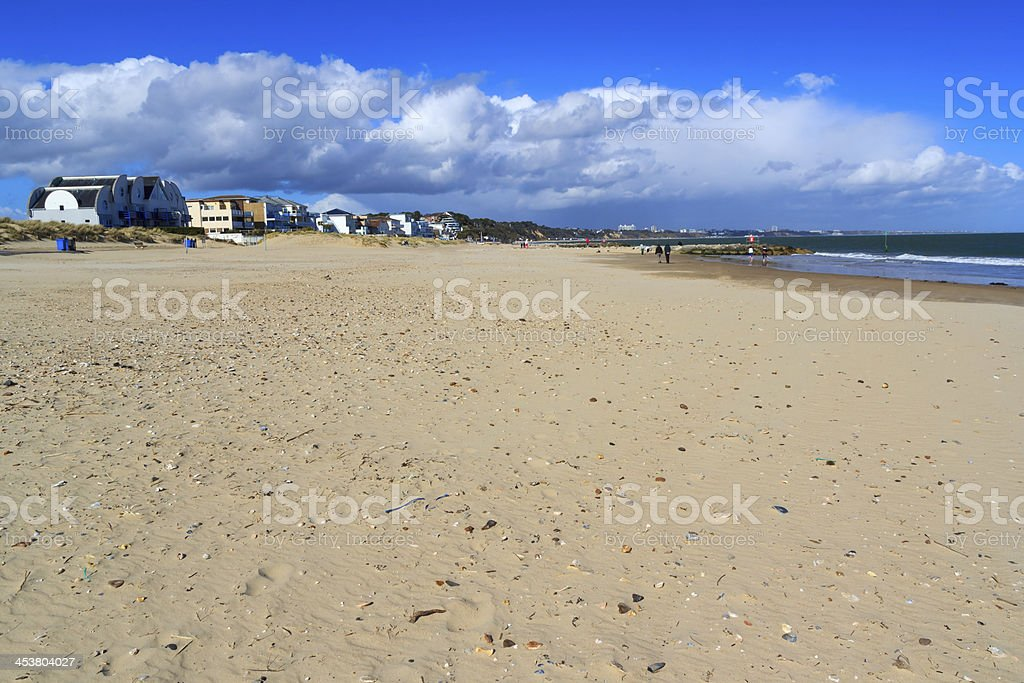 Sandbanks Dorset stock photo