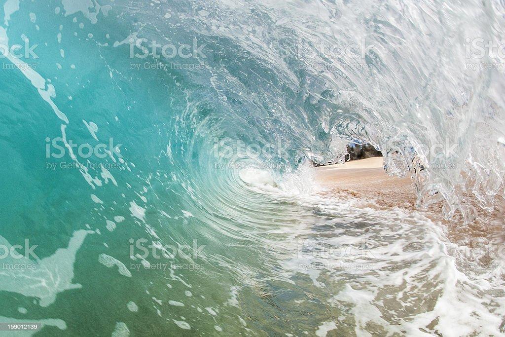 Sandblast stock photo