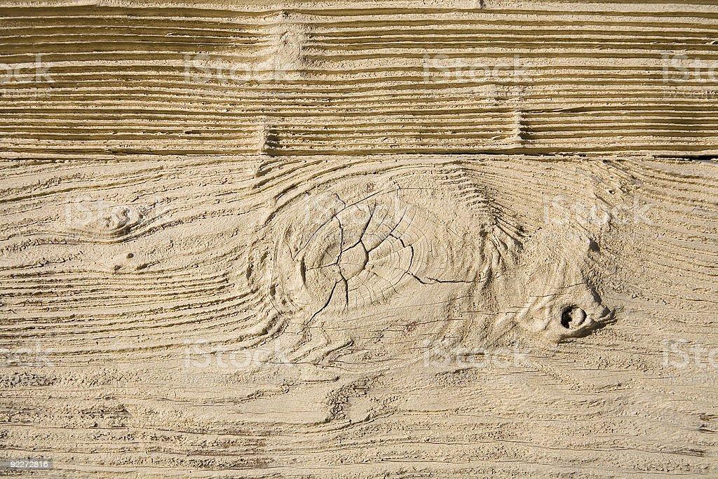 Sandblasted Wood Grain. stock photo