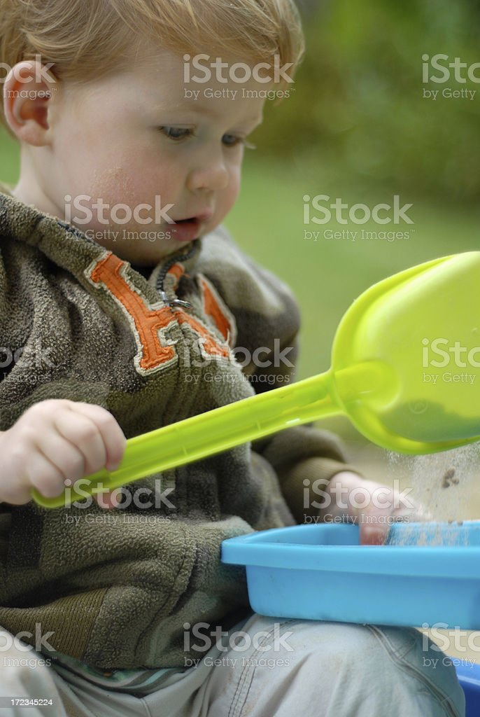 Sandbox royalty-free stock photo