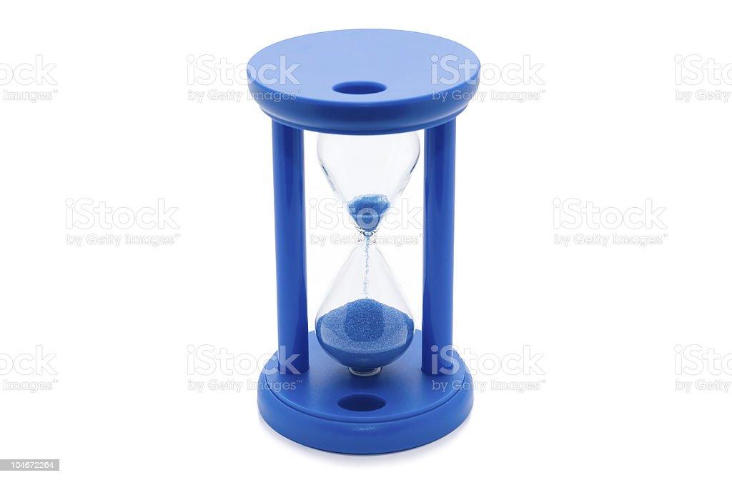 Sand-glass. royalty-free stock photo