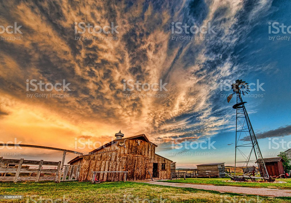 Sandhill Ranch stock photo