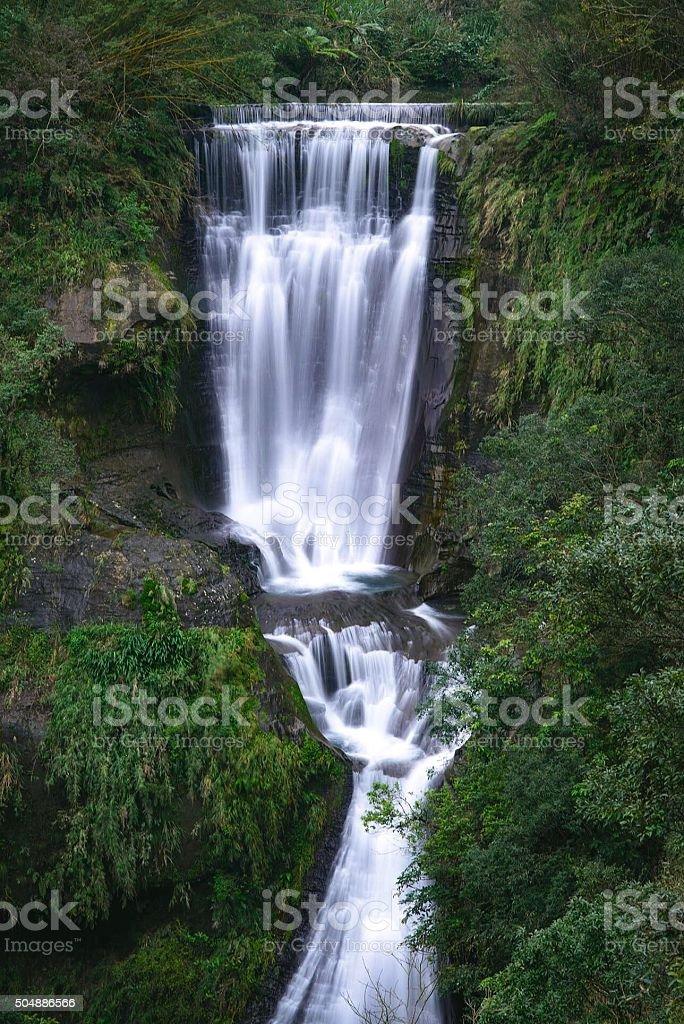 Sandiaoling Waterfall stock photo