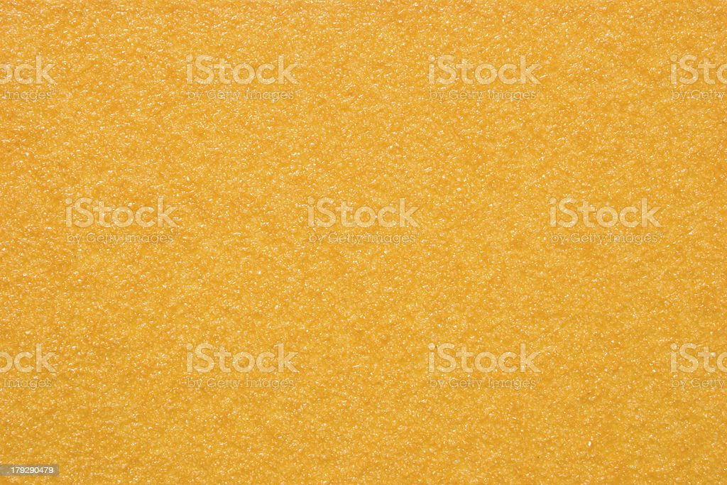 Sandpaper - Yellow (Texture) royalty-free stock photo