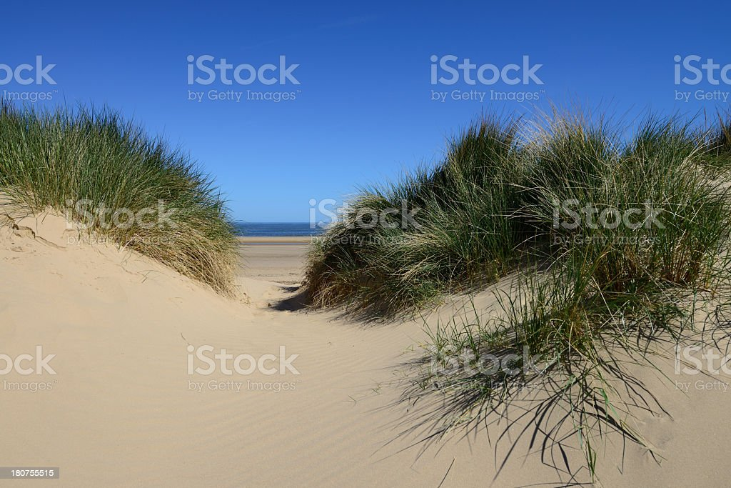 Sands Dunes. royalty-free stock photo
