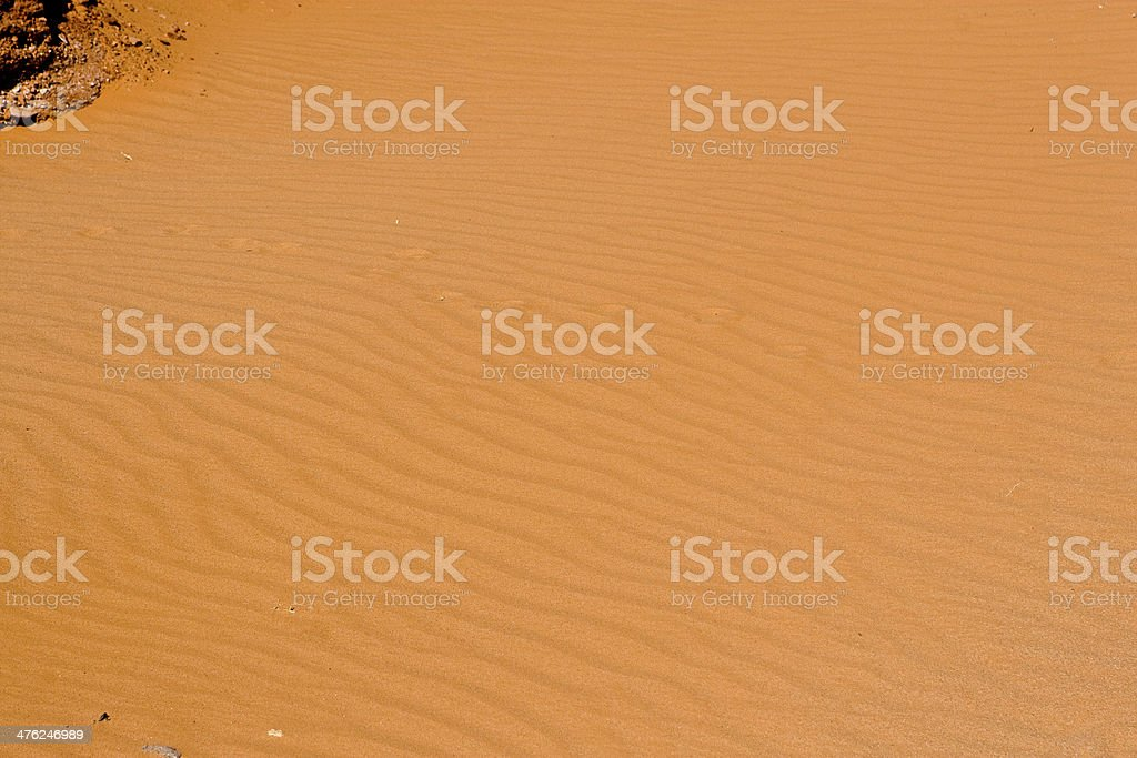 Sands of time. stock photo