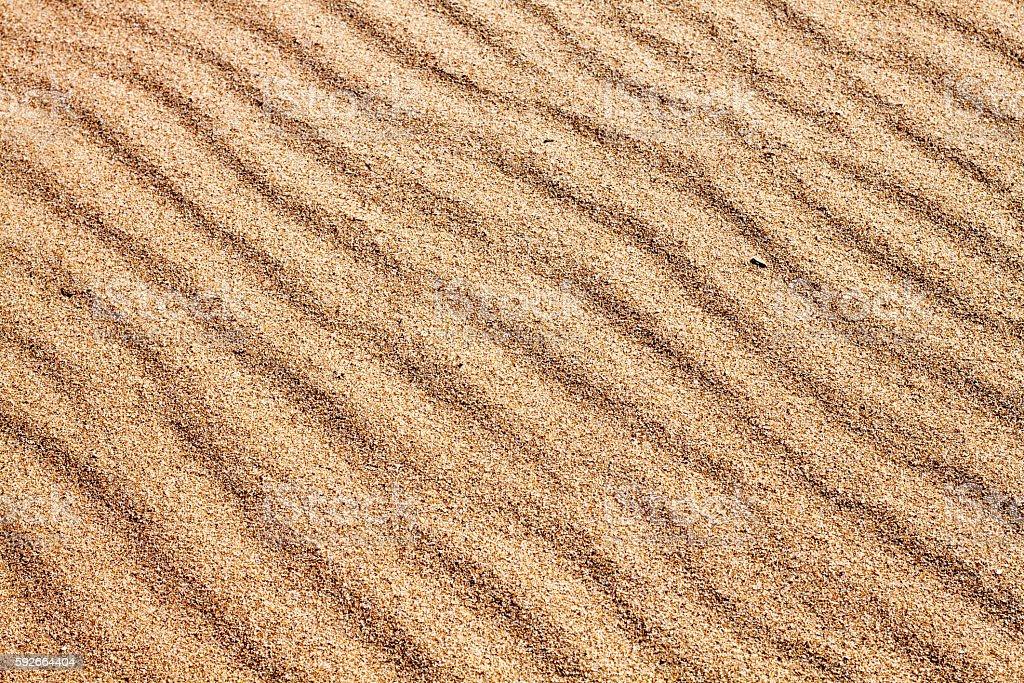 Sands on the Beach stock photo