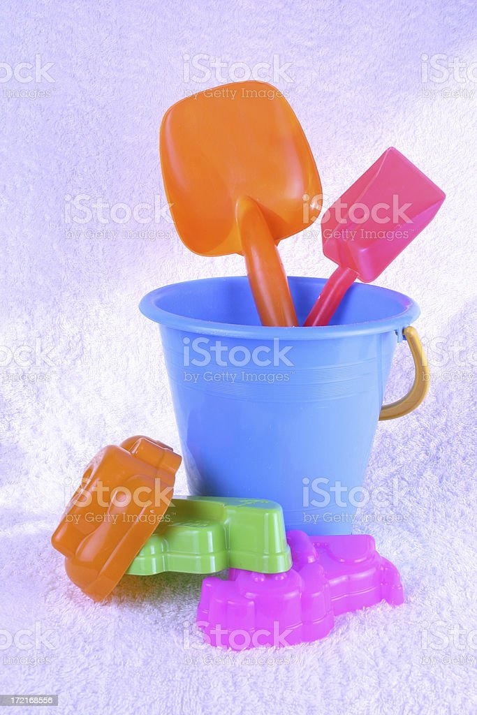 Sands Toys royalty-free stock photo