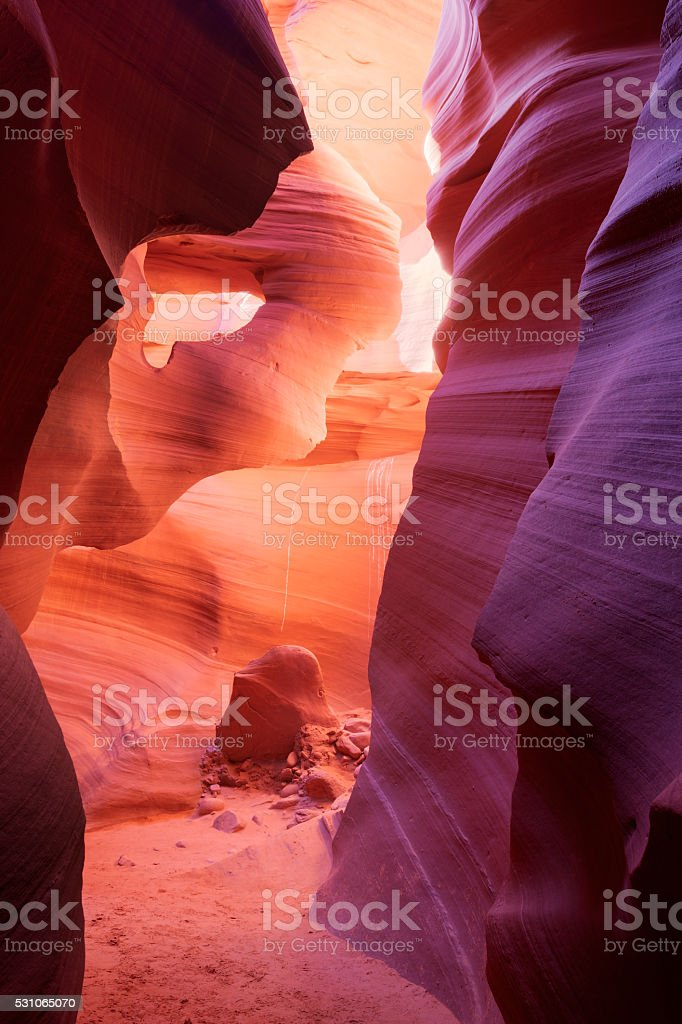 Sandstone arch stock photo